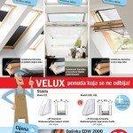 Nova akcija VELUX krovnih prozora