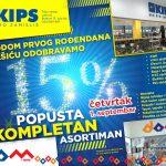 Prvi rođendan KIPS-a u Nikšiću.