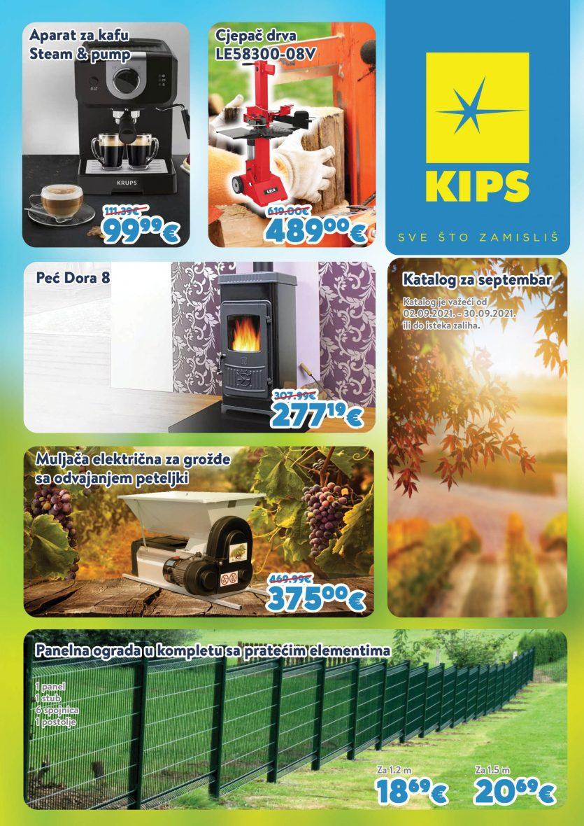 Kips Akcijski Katalog Septembar
